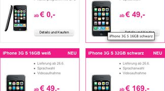 T-Mobile AT: iPhone 3GS ab EUR 49,-
