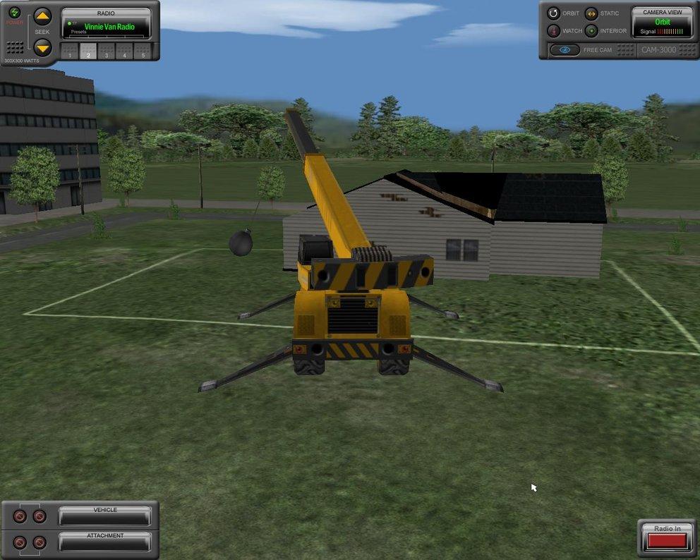 Baumaschinen-Simulator: Mit der Abrissbirne macht ihr ein Haus dem Erdboden gleich