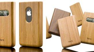 Zubehör: Holz &amp&#x3B; Bambus Cases für iPhone, iPod