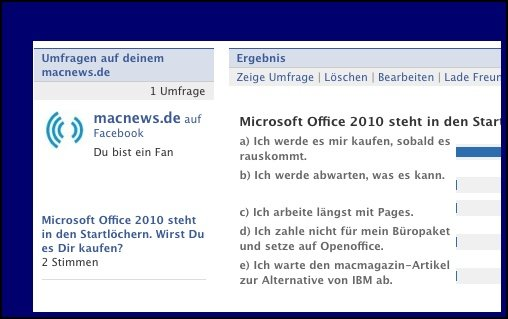 Umfrage: Sind Sie gespannt auf Microsoft Office 2010?