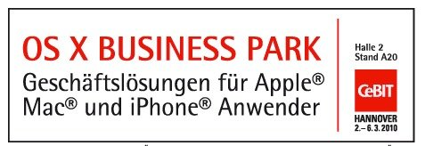 macnews.de und OS X Business Park verlosen 500 CeBIT-Tickets