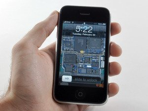 iPhone 3GS Logic Boards als Wallpaper