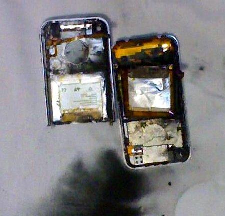 iPod explodierte in Amerikanischer Schule