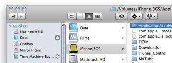 Phone Disk: Das iPhone im Finder