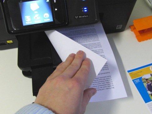 Duplexdruck: Zwei Seiten eines Blattes