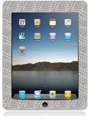 iPad mit Diamant-Rahmen