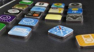 iPhone App-Magneten für Whiteboard, Kühlschrank etc.