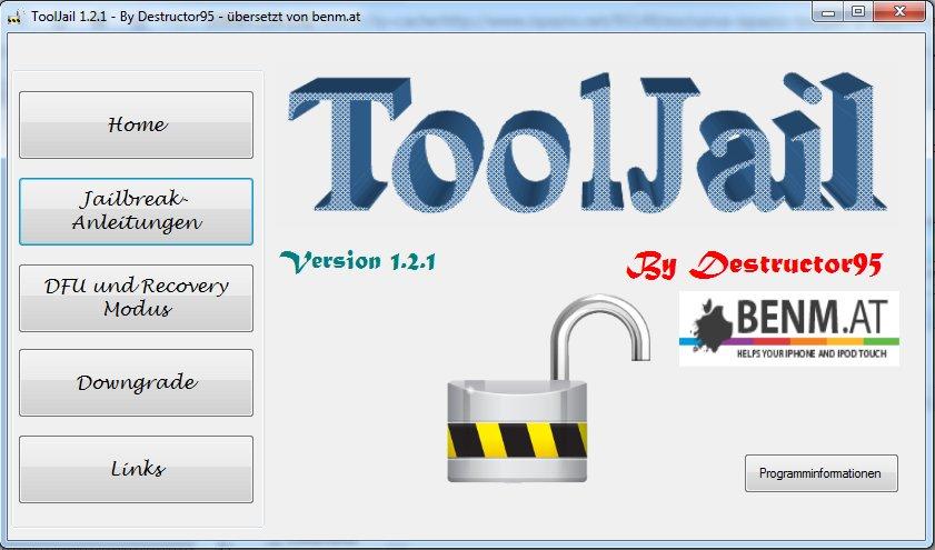 ToolJail 1.2.1 - Zeigt an ob ein Jailbreak möglich ist