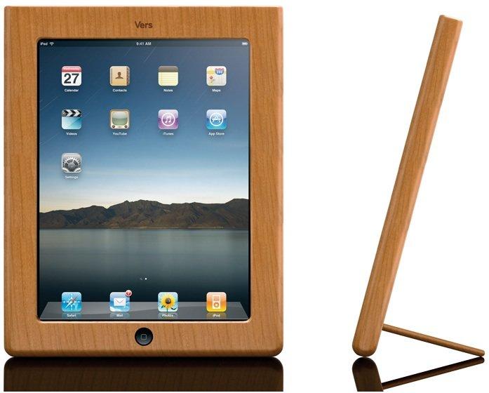 iPad-Holz-Case von Vers