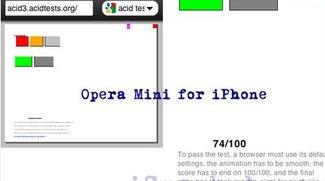 Opera Mini: Schlechte Noten im Acid Test