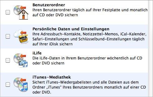 Unverhofftes Update: Apple Backup lebt