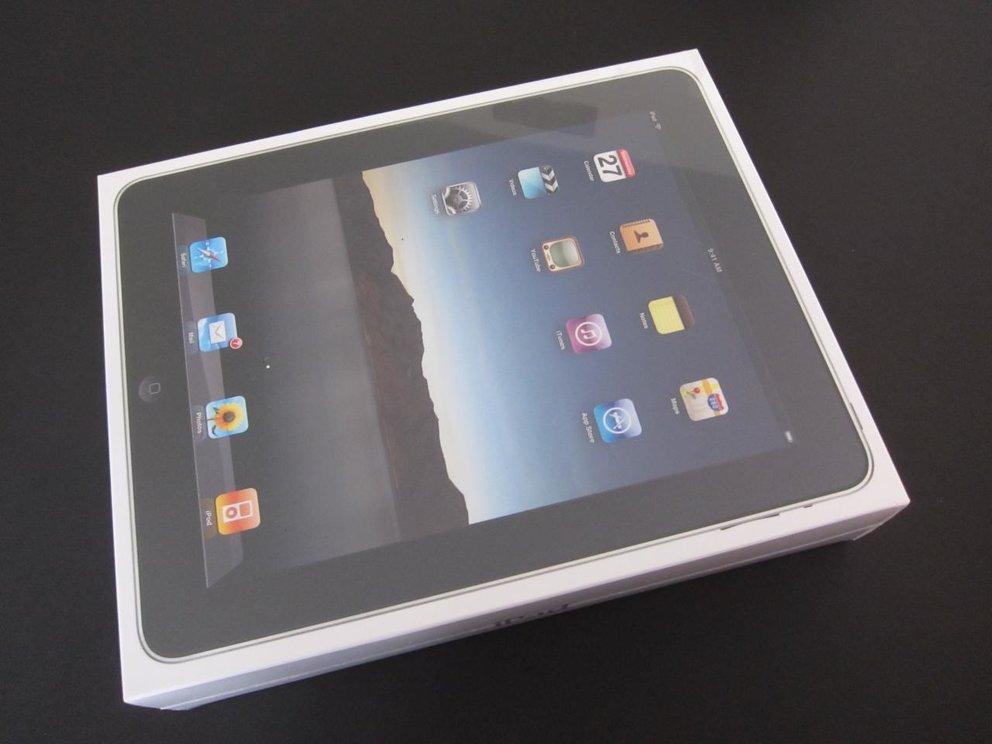 Fotos vom iPad mit Zubehör im Detail