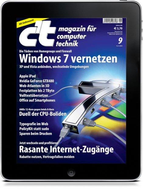 Ende Juni: Digitales c't Magazin für iPad