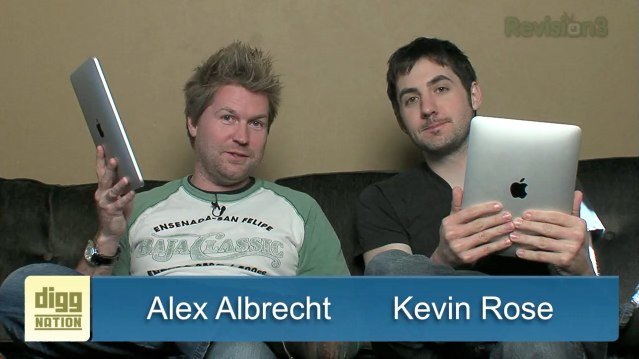 Video: Diggnation on the iPad