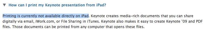 iPhone OS 4.0 mit Druck-Funktion?