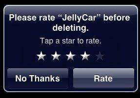 iPhone OS4: Das Ende für Rate on Delete