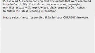 redsn0w 0.9.5 BETA: Dev Team veröffentlicht Firmware 4.0b1 Jailbreak
