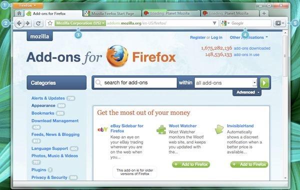Firefox 4 setzt auf HTML5 und Multitouch-Gesten
