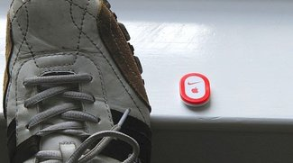 Nike+-Sensor mit Herz(monitor)