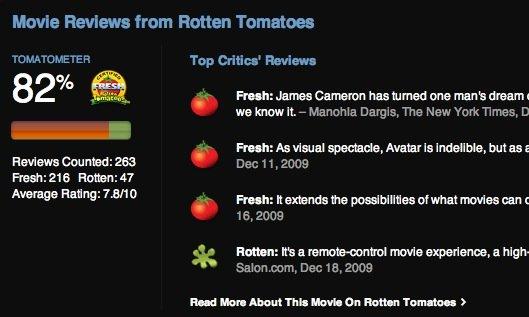 US-iTunes-Store zeigt Wertungen von Rotten Tomatoes