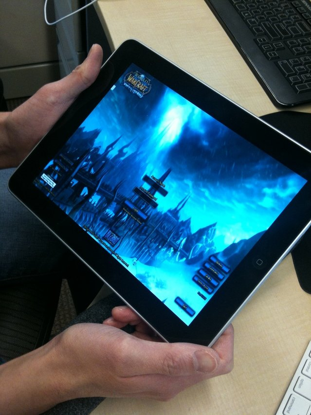 "Gaikai: ""World of Warcraft"" am iPad [Rumor]"