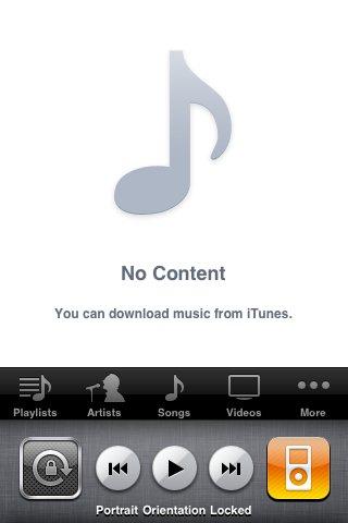 iPhone OS 4: Rotationssperre und iPod-Schnellzugriff