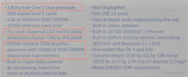 Aus Vietnam: Update für MacBook