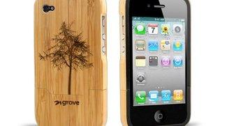 Bambushülle schützt iPhone 4 und Umwelt