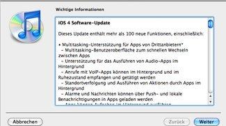 iOS 4 für iPhone und iPod touch jetzt verfügbar