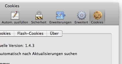 Cookie-Management in Safari und Firefox