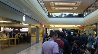 iPhone 4: Erwartete Warteschlangen zum offiziellen Verkaufsstart