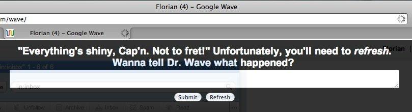 Google Wave funktioniert nicht mit Safari 5