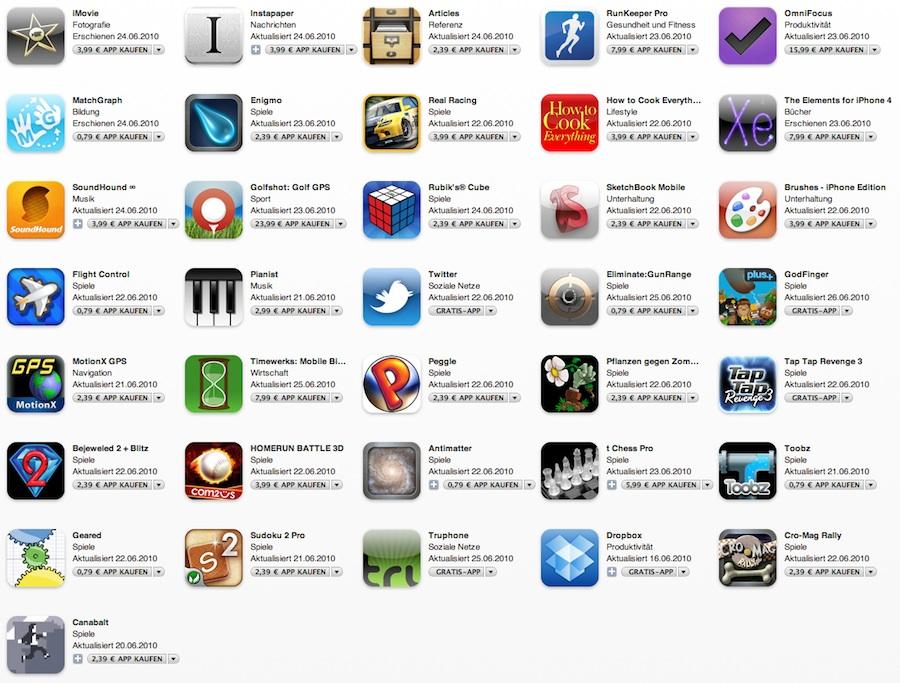 Приложение для iphone 4 скачать