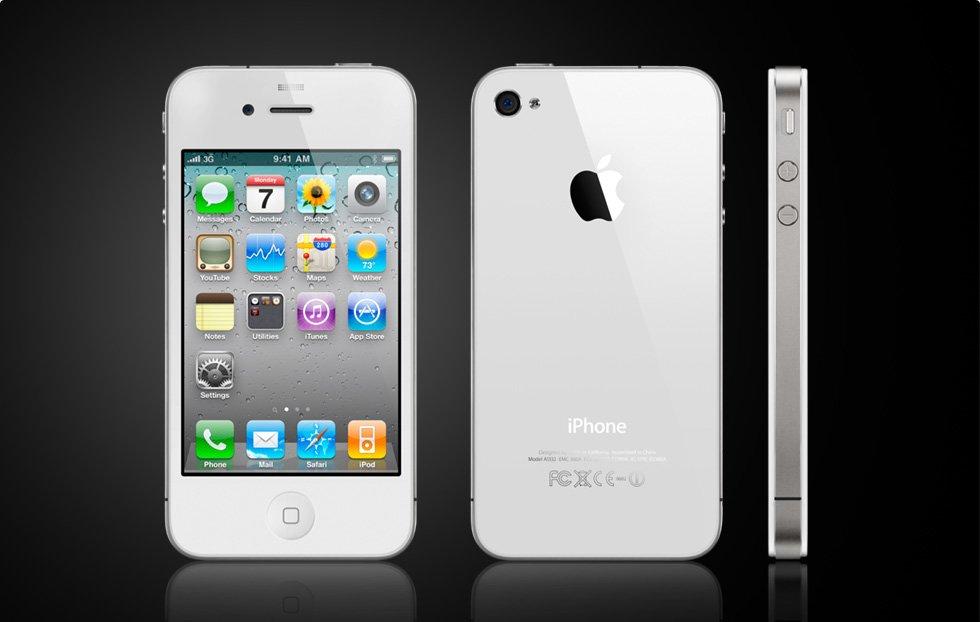 Weißes iPhone 4 verzögert sich bis zweite Juli-Hälfte