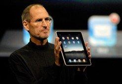 Steve Jobs stellt das iPad vor