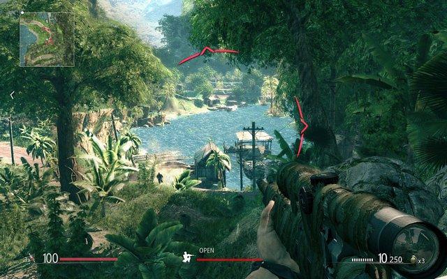 Sniper - Ghost Warrior: Habt ihr zu viel Aufmerksamkeit erregt, droht eure Mission zu scheitern