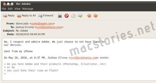 Steve Jobs: &quot;I respect and admire <a href=