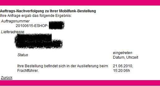 Telekom verschickt erste iPhone 4-Lieferungen
