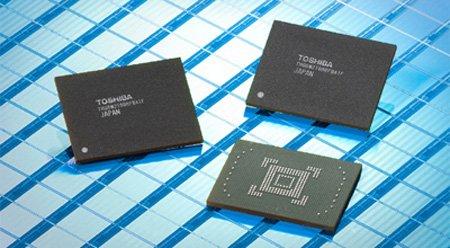 Toshiba stellt Flash-Speicher mit 128 Gigabyte Kapazität vor