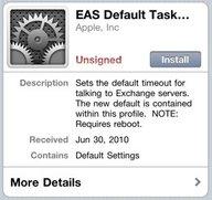 iPhone 4: Die Lösung der Exchange-Synchronisationsprobleme