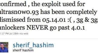 Dev Team: Kein Unlock für 3G &amp&#x3B; 3GS nach 4.0.1?