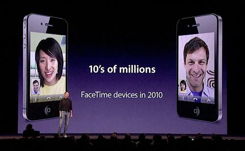FaceTime für iPod touch: Aktivierung &amp&#x3B; Telefonate per Email, Eigene App