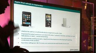 UK-Händler John Lewis glaubt an iPod touch mit Kamera
