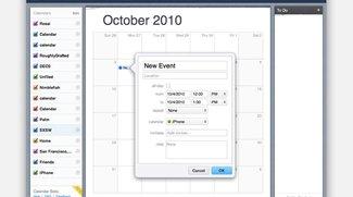 Zweite Beta-Version des neuen MobileMe-Kalenders