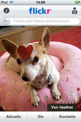 Update: Flickr mit Multitasking und HD-Videoupload