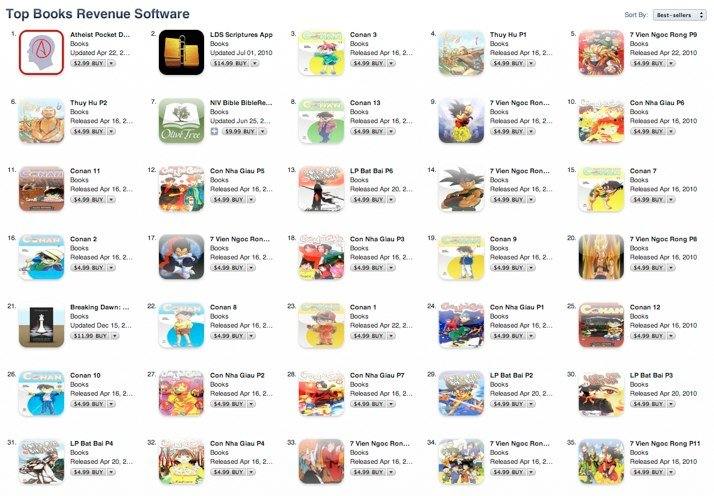 US App Store: Hacker kauft mit gestohlenen iTunes Accounts eigene Apps [Update]