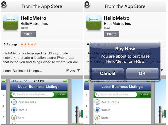 iAds: Apps in Apps kaufen