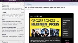 HTML 5: Yahoo-Mail auf dem iPad