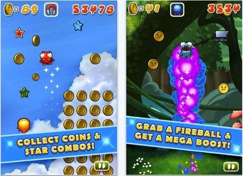Mega Jump for iPhone, iPod touch, and iPad on the iTunes App Store