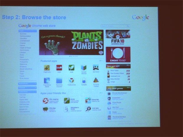 Google: Web App Store kurz vor dem Release
